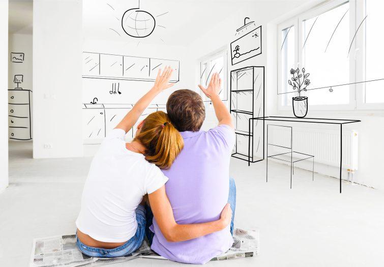 neue Wohnung einrichten - Raumgestaltung
