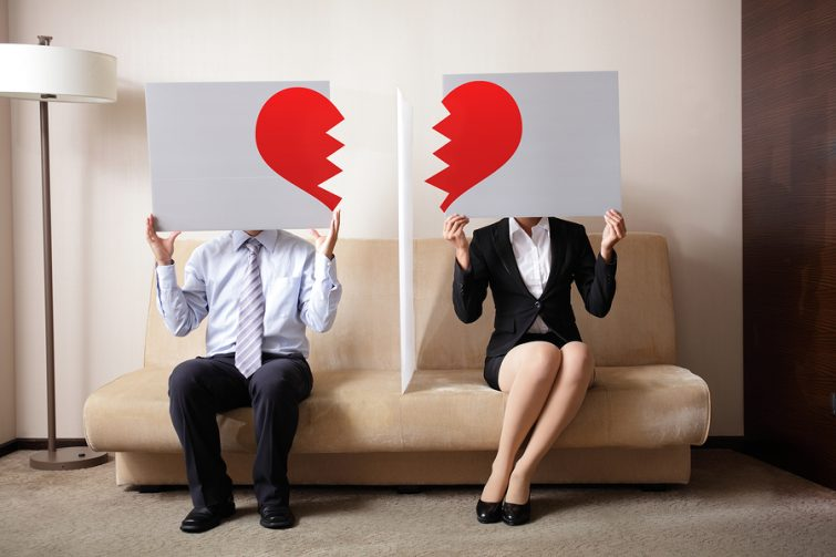 Auszug nach einer Trennung